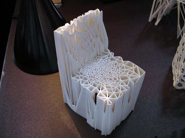 3D Printed Chair @ 3D⚡DC