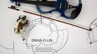 Draw-o-lin: A Music Visualizer for Violin