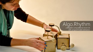 Algo.Rhythm: programmable drum robots kits