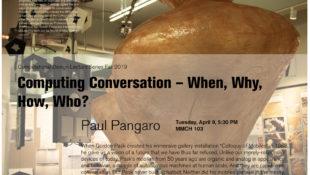 Paul Pangaro lectures at Code Lab